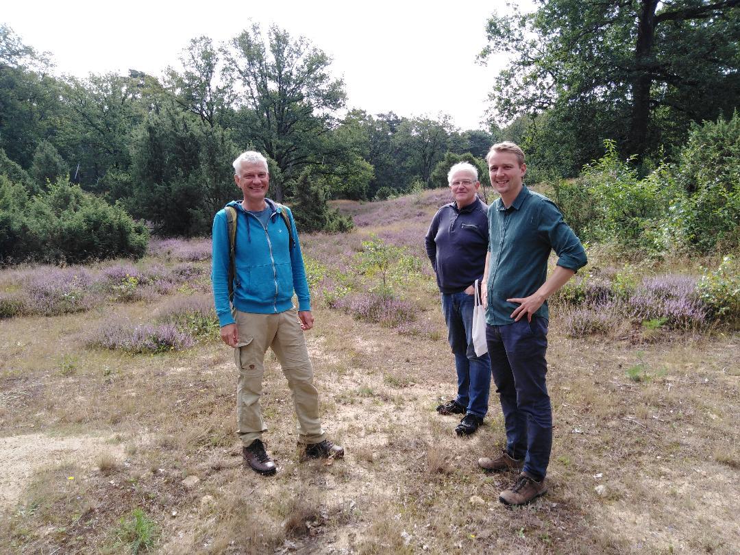 Unterwegs mit Janni Gesenhues und dem NABU – Erweiterung der Heideflächen in den Bockholter Bergen